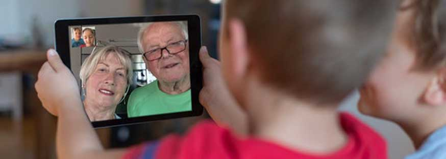 These 20 Fun Video Chat Activities Will Keep Kids & Grandparents Connected